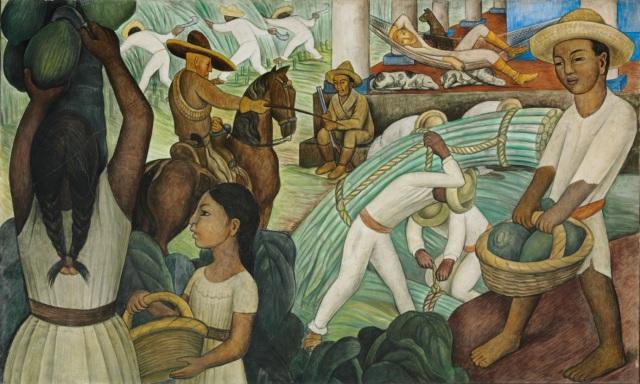 Diego Rivera (1931) Sugar Cane