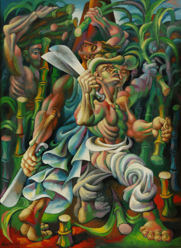Mario Carreno (1943) Sugar Cane Cutters